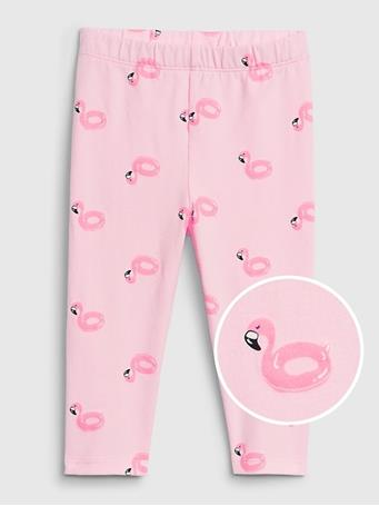 GAP - Toddler Crop Legging Pink Boat {#color}