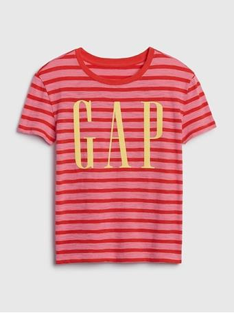 GAP - Logo T-shirt  Suagar Plum {#color}