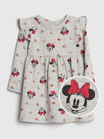 GAP - Baby GAP Disney Ruffle Dress LT-HEATHER-GREY