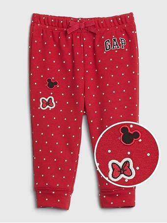 GAP - BabyGap Logo Disney Pull-on Arch Pant MODERN-RED