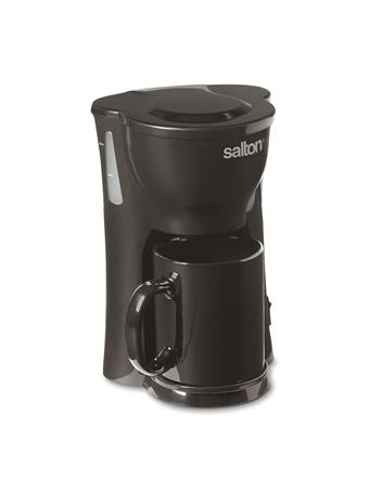 SALTON -  Space Saver 1 Cup Coffee Maker WHITE
