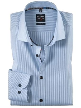 OLYMP - Long Sleeve Dress Shirt Royal Kent BLUE