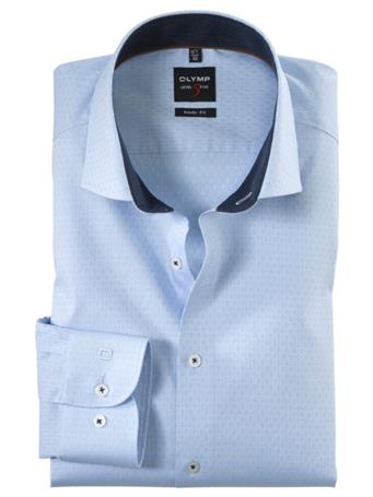 OLYMP - Long Sleeve Dress Shirt Royal Kent LIGHT-BLUE