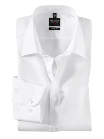 OLYMP - Long Sleeve Dress Shirt New York Kent WHITE