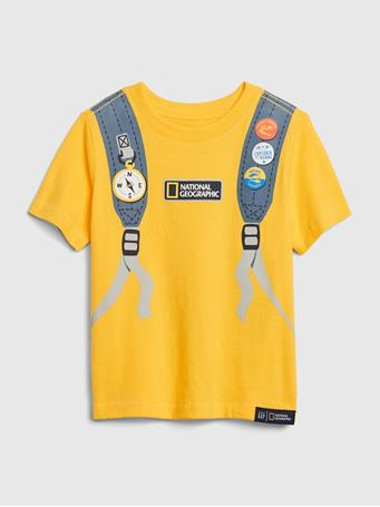 GAP - babyGap | National Geographic Organic Graphic T-Shirt RADIANCE