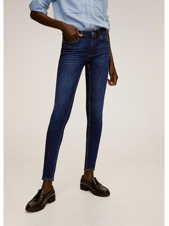 MANGO - Kim Skinny Push-Up Jeans NAVY