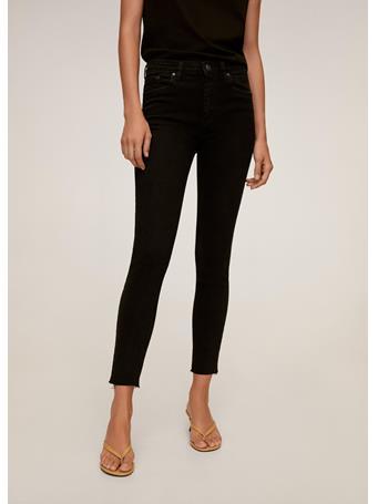 MANGO - Isa Crop Skinny Jeans BLACK