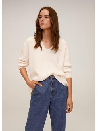 MANGO - Boop Sweater NATURAL-WHITE