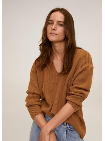 MANGO - Boop Sweater MEDIUM BROWN