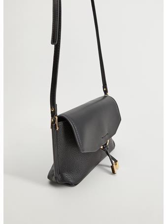 MANGO - Frida Cross-Body Bag BLACK