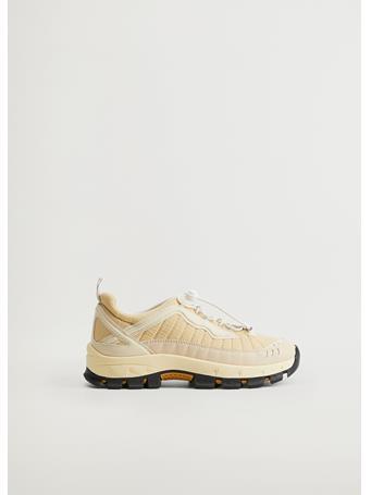 MANGO - Diya Sport Sneakers NATURAL-WHITE