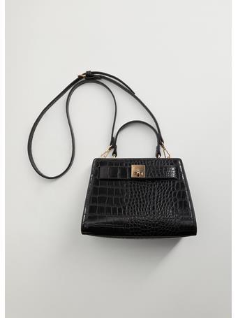 MANGO - Odon Cross Body Bag BLACK