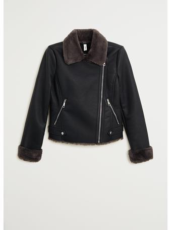 MANGO - Cadi Biker Jacket BLACK
