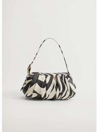 MANGO - Nastri Baguette Bag WHITE