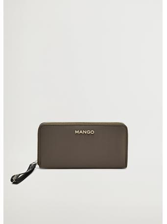 MANGO - Nolan Wallet KHAKI