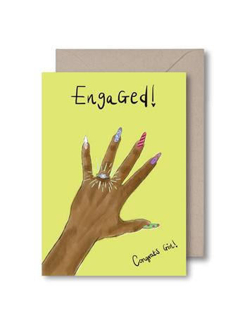 KITSCH NOIR - Engaged Card {#color}