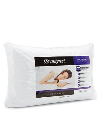 BEAUTYREST - Wont Go Flat Pillow WHITE