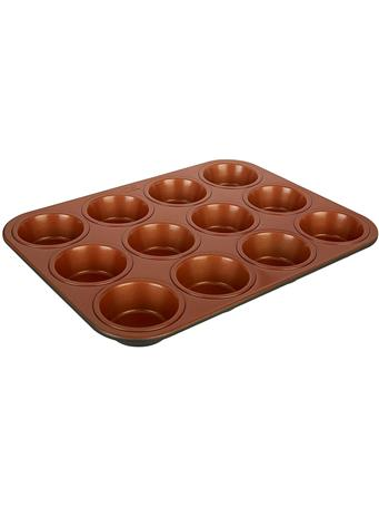 IKO - 12 Cup Copper Muffin Pan COPPER