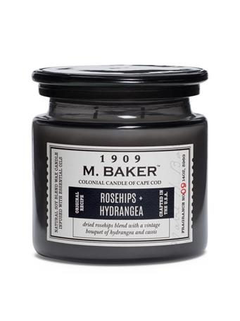 M.BAKER - Rosehips & Hydrangea Scented Candle No-Color