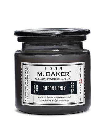 M.BAKER - Citron Honey Scented Candle No-Color