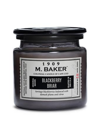 M. BAKER - Blackberry Briar Scented Candle No-Color