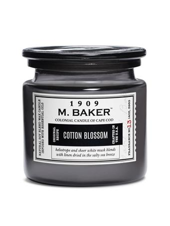M.BAKER - Cotton Blossom Scented Candle No-Color