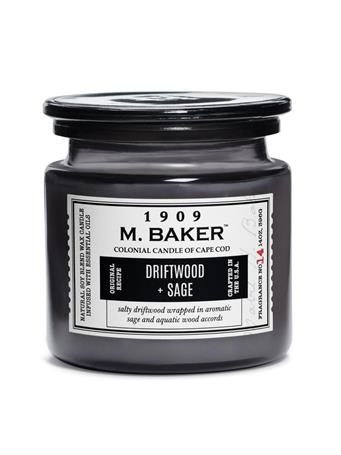 M.BAKER - Driftwood & Sage Scented Candle No-Color