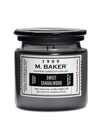 M.BAKER - Sweet Sandalwood Scented Candle No-Color
