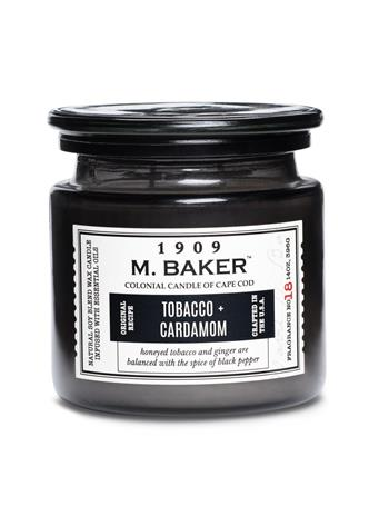 M.BAKER - Tobacco & Cardamom Scented Candle No-Color