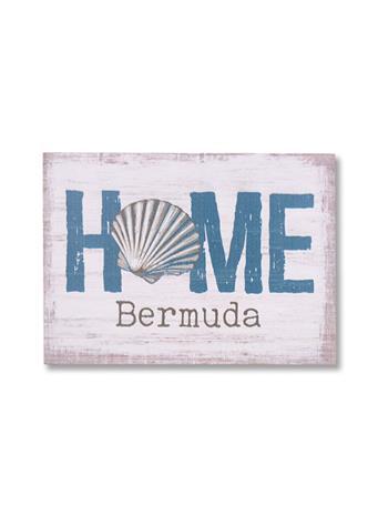 Bermuda Home Wooden Word Block {#color}