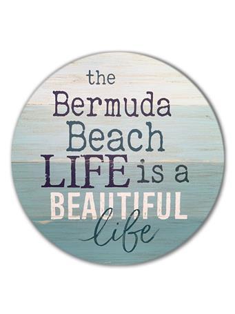 Bermuda Beach Life Sign {#color}