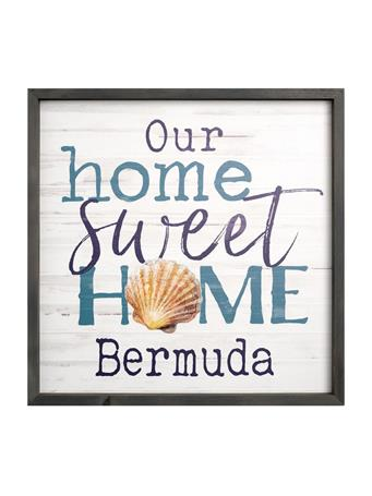 Bermuda Home Sweet Home Sign No-Color