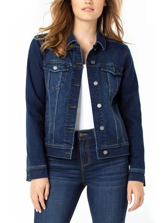 LIVERPOOL JEANS - Classic Eco Denim Jacket FRANCIS