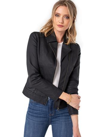 LIVERPOOL JEANS - Clean Moto Jacket BLACK