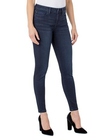 LIVERPOOL JEANS - Abby Ankle Skinny High Performance Denim HALIFAX