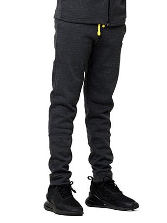 HIND - Elastic Waist Pants CHARCOAL