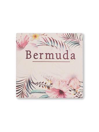 Bermuda Flowers Coaster {#color}