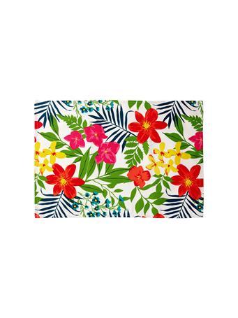 HOME ESSENTIALS - Versatile Table Linen/Tea Towel - Floral MULTI