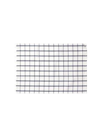 HOME ESSENTIALS - Versatile Table Linen/Tea Towel - Plaid BLUE