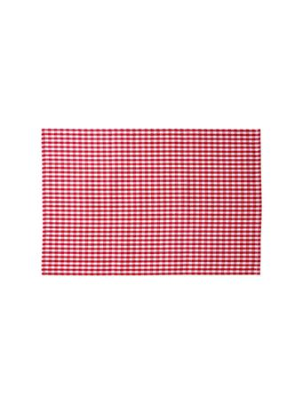 HOME ESSENTIALS - Versatile Table Linen/Tea Towel - Red Buffalo Check RED