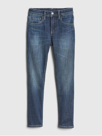 GAP - Kids Skinny Jeans with Max Stretch DARK-WASH