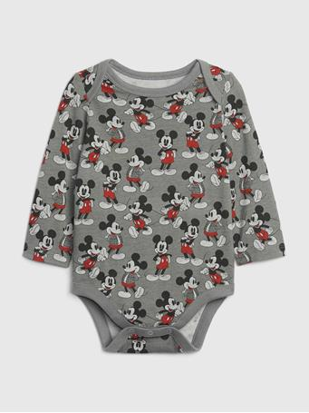 GAP - babyGap   Disney Mickey Mouse Mix and Match Bodysuit NEW-SHADOW