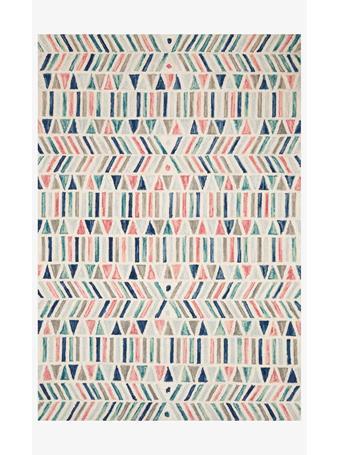 JUSTINA BLAKENEY -  Ivory/Multi Rug - Hallu collection IVORYMULTI