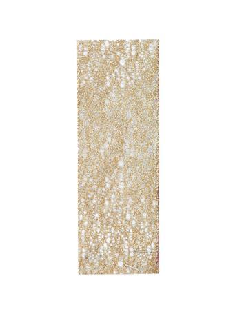 KURT ADLER - Gold Mesh Woven Ribbon GOLD