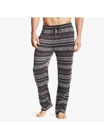 BOTTOMS OUT - Tyler Holiday Sweater Fleece Pant BLACK