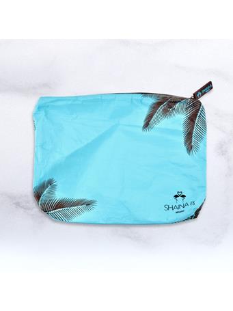SHAINA B. - Blue Palm Print Spillproof Bag  No-Color