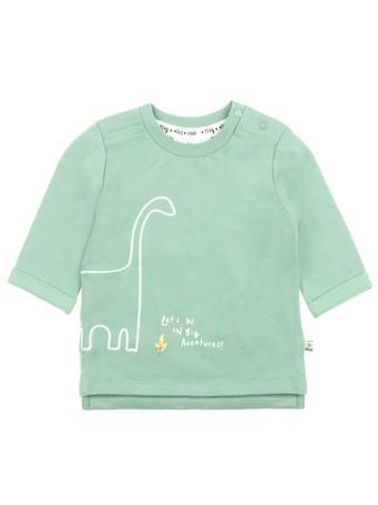 FEETJE - Sweater Let'S Go - Dino LIGHT-GREEN