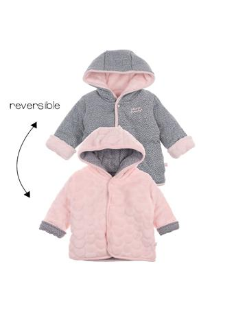 FEETJE - Reversible Jacket With Hood - We Are Family Girls NOVELTY