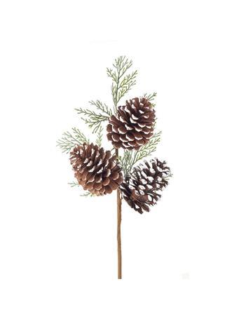 KURT ADLER - Pinecone Cedar Pick NATURAL
