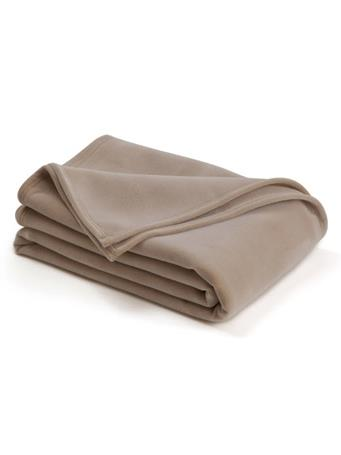 VELLUX - The Original Vellux Blanket TAN